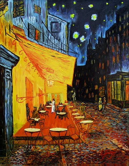 Café Terrace at Night - Vincent Van Gogh