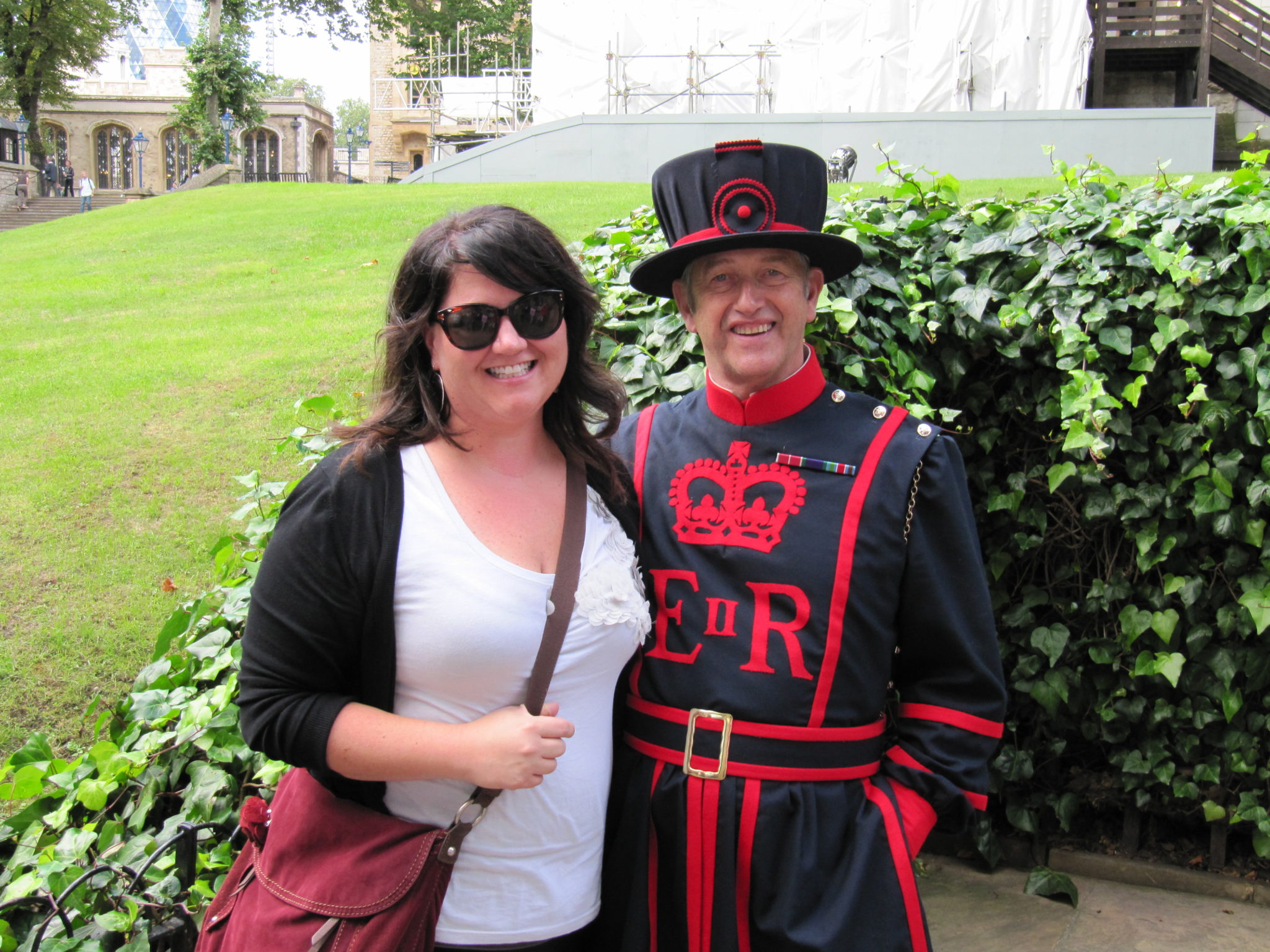 Chillin' with a Beefeater.