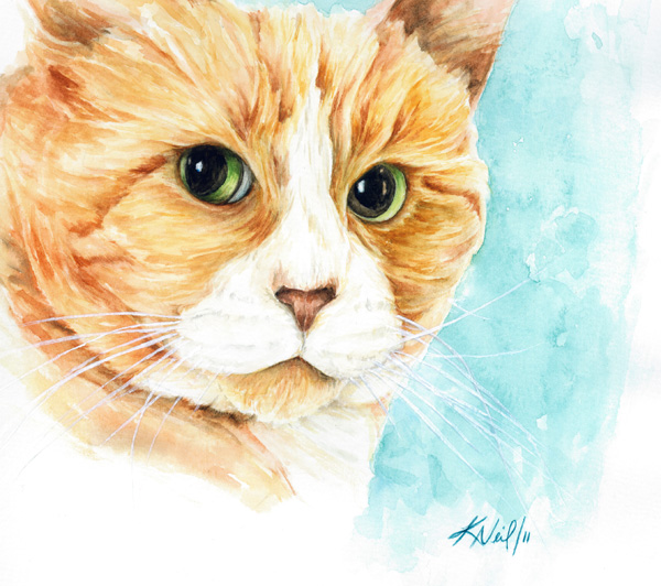Stan, watercolour, 2011
