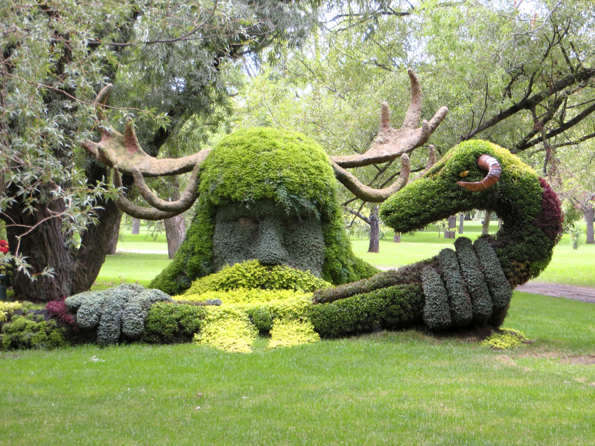 Cernunnos and the Ram-horned Serpent, Spirits of the Forest from Canada.