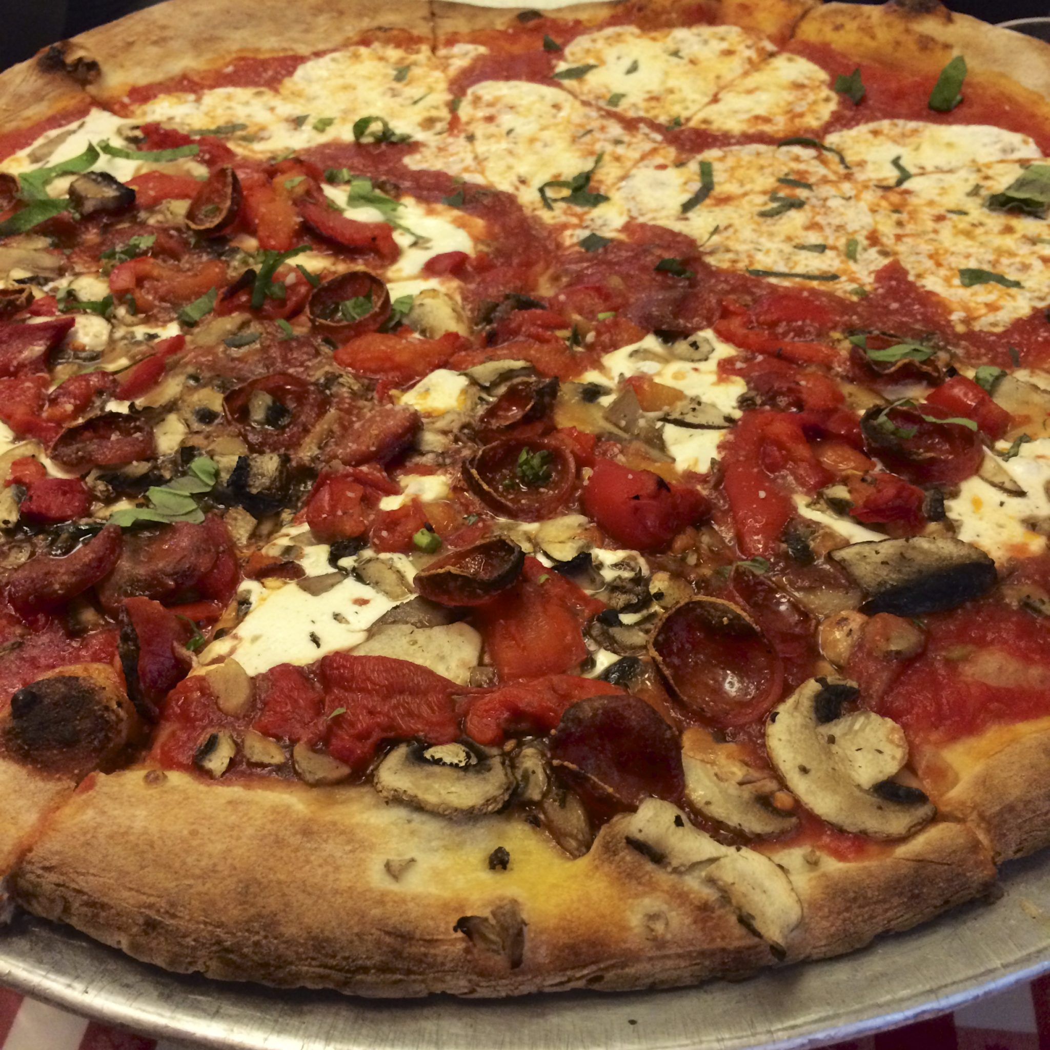 Pizza from Little Italy.
