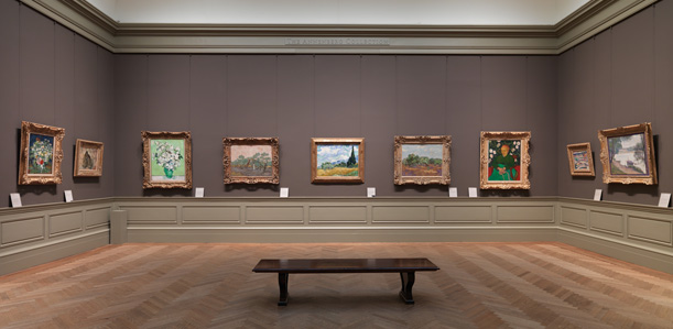 Vincent van Gogh heaven! The Met has 26 of van Gogh's pieces. They had 14 on display. Loved them all. Photo source: The Met.