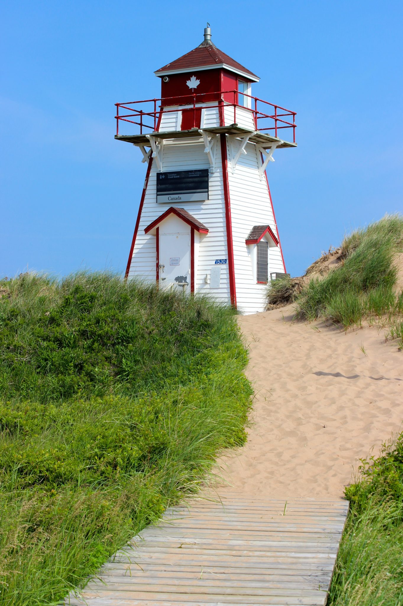 Lighthouse in PEI National Park.