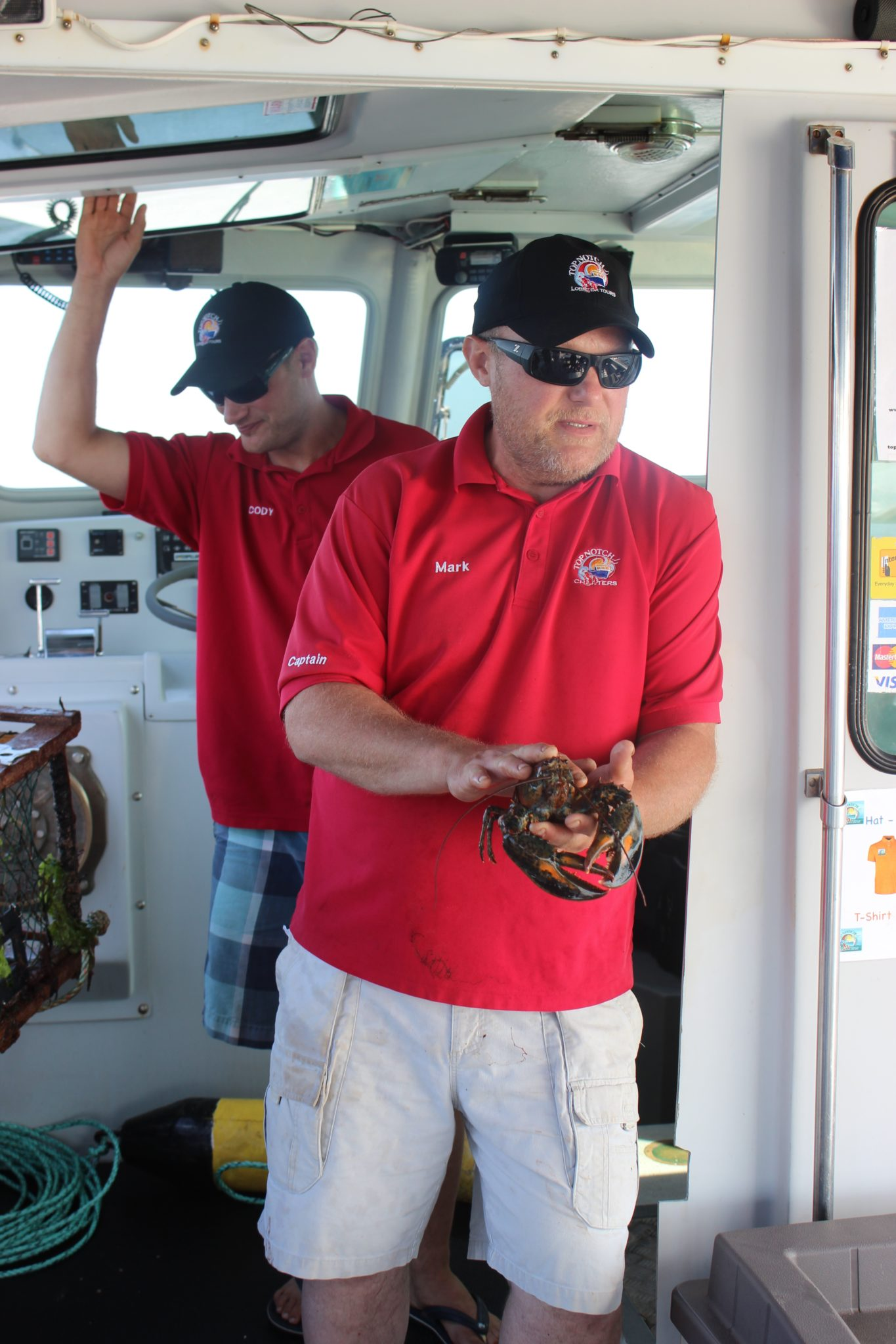 Top Notch Lobster Tours, PEI.