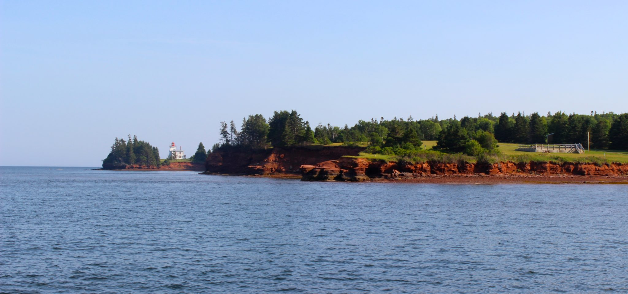 Red cliffs of PEI.