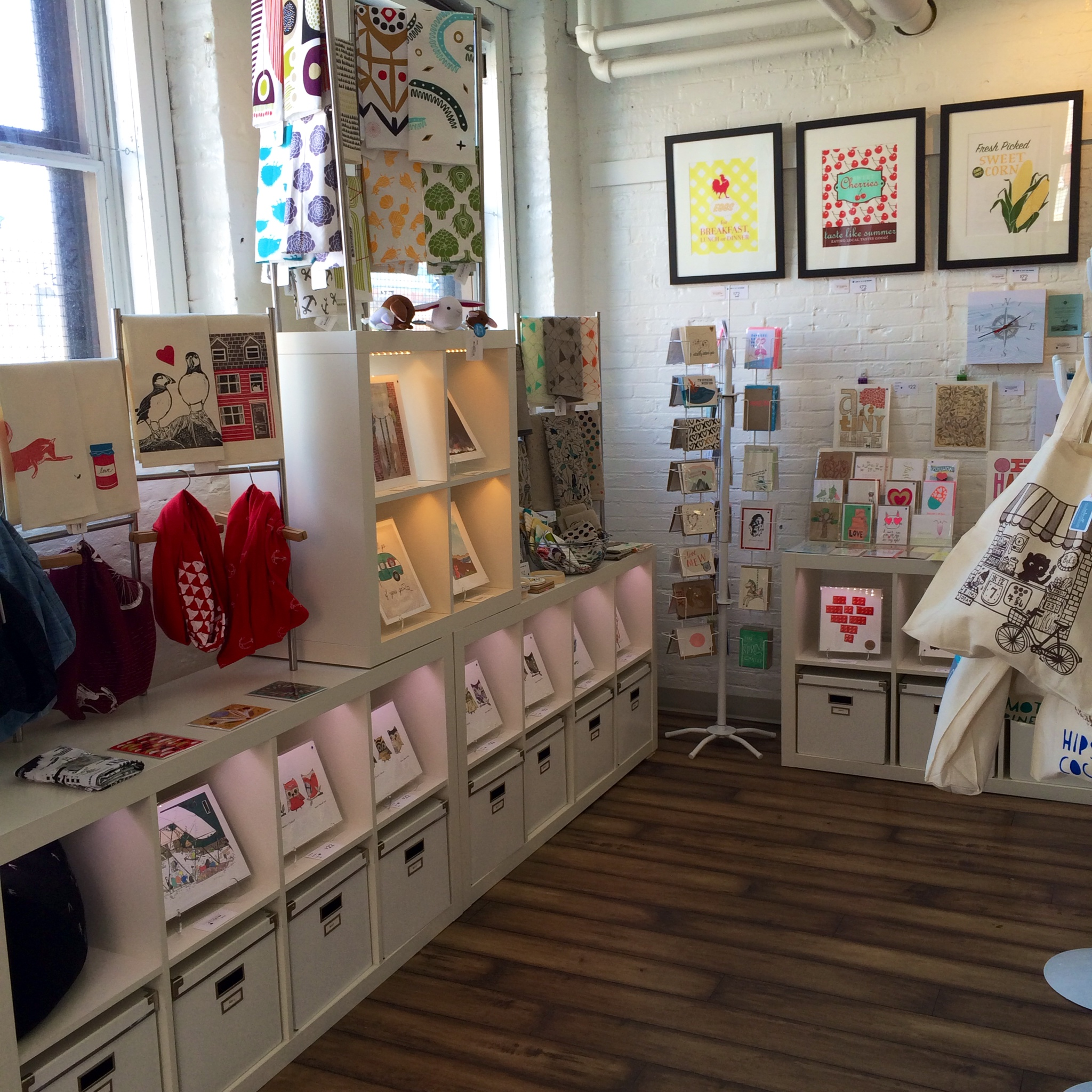 My favourite store in Halifax -- Inkwell Modern Handmade Boutique & Letterpress Studio.