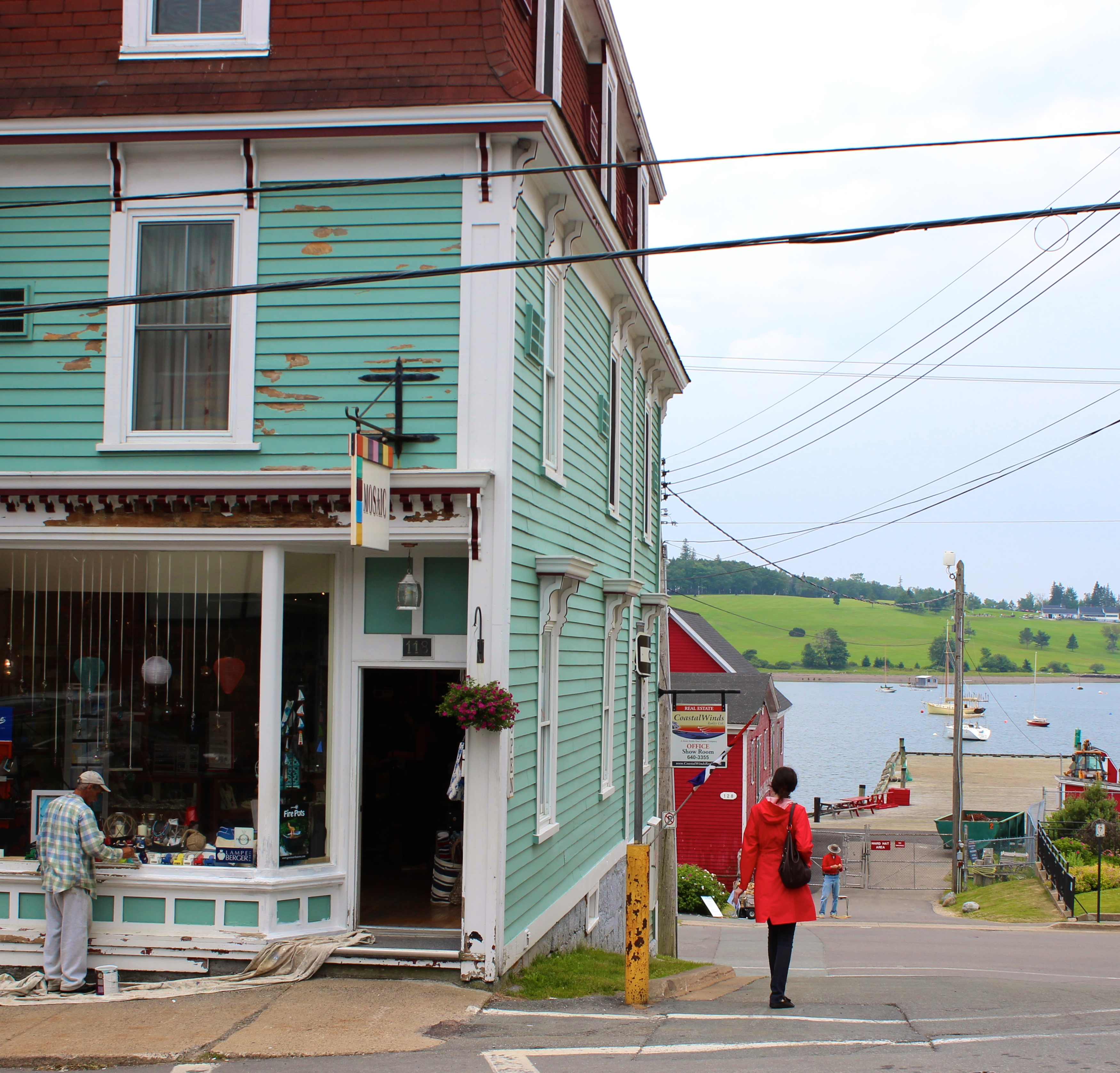 Colorful Lunenburg, Nova Scotia, Canada