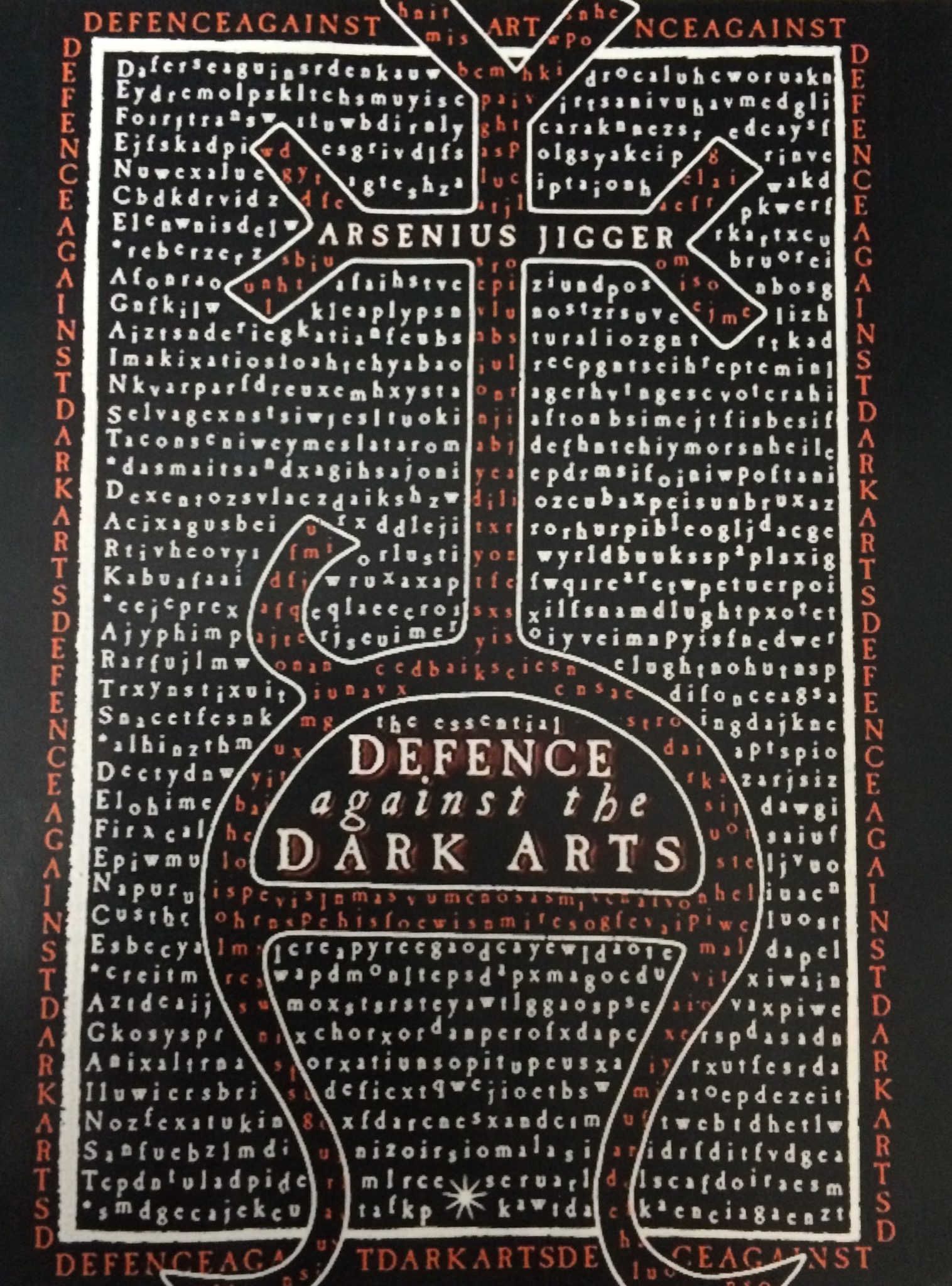 Defence against the Dark Arts text book.
