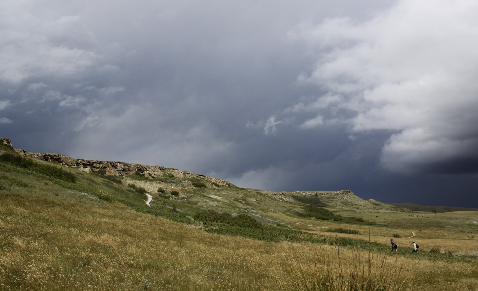 Head Smashed In Buffalo Jump, Alberta