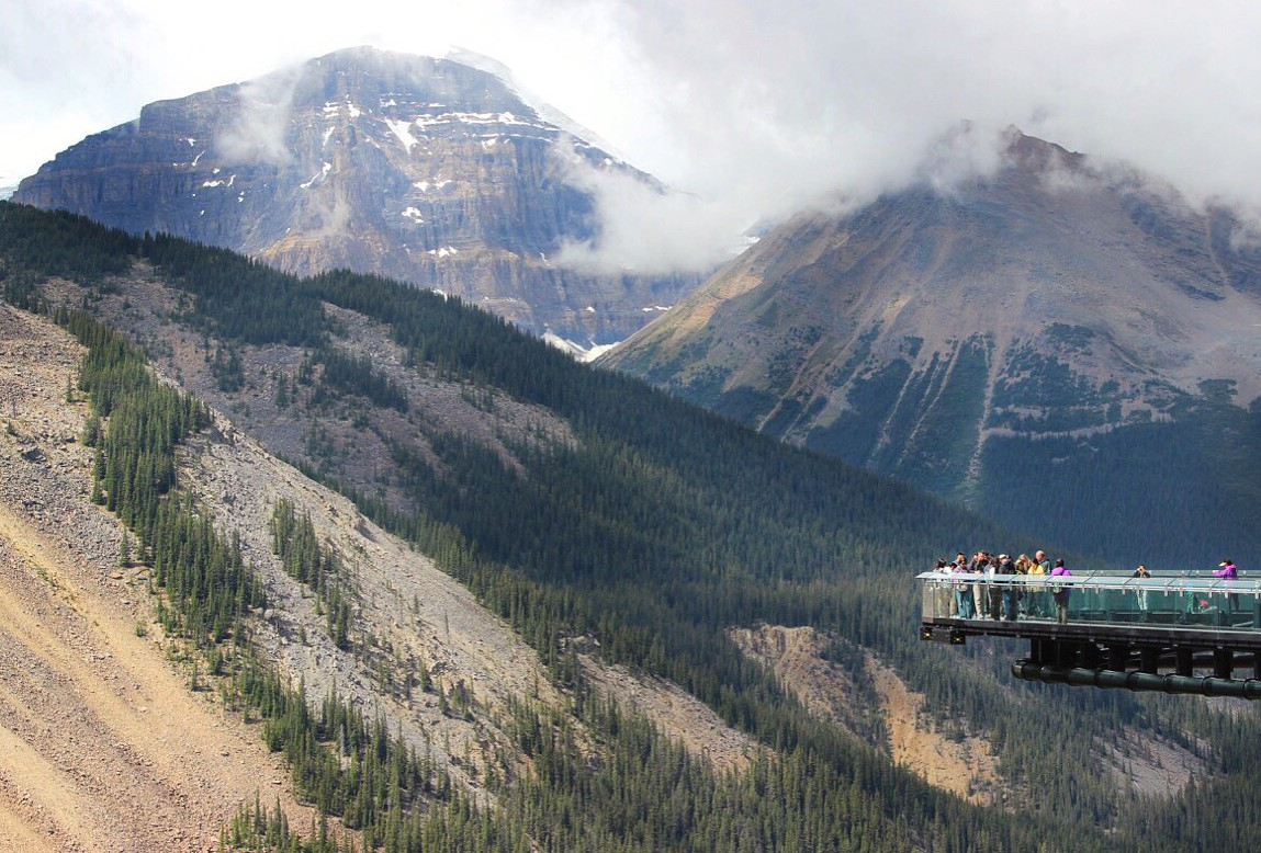 Glacier Skywalk, Jasper National Park