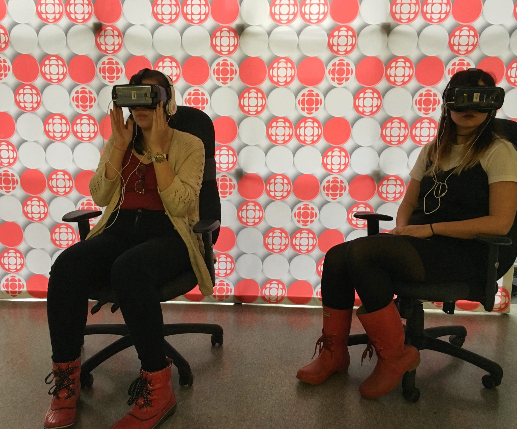 The Quidditch team. Highway of Tears virtual reality documentary