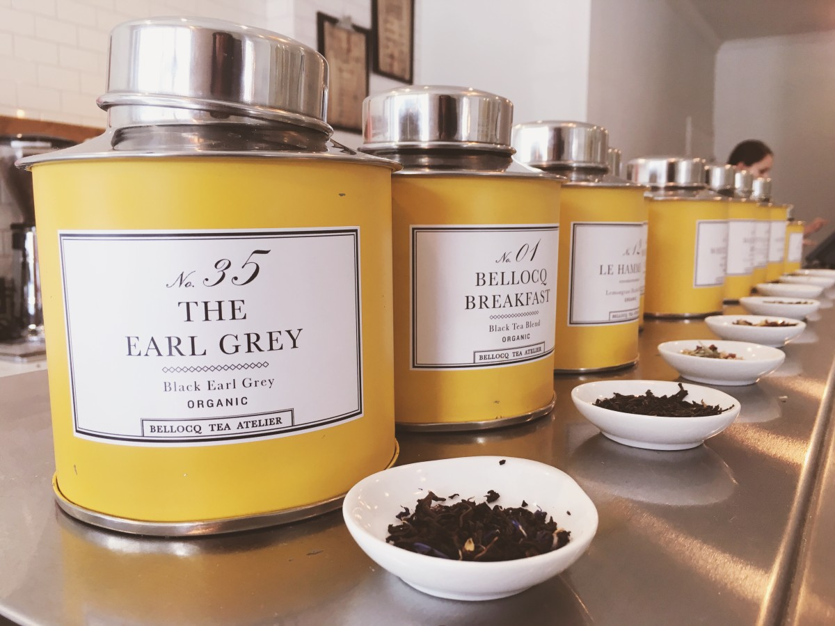 Bellocq's Earl Grey tea at High Tea Bakery