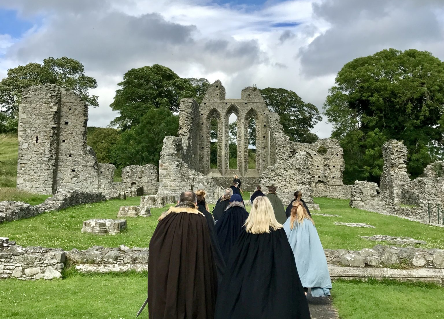 Inch Abbey, Game of Thrones Tours, Ireland