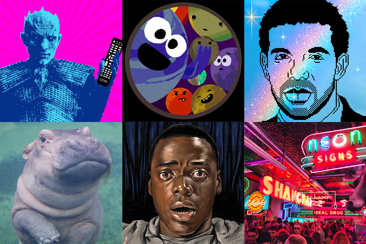 Best of 2017, Drake, Binge Mode, Trappist-1, Fiona the hippo, Get Out, nuit blanche